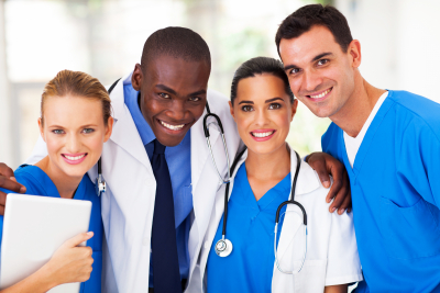 group of medical team